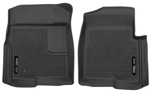 Husky | 53311 | X Act Front Floor Liners Fits 2011-2014 Ford F150 With Center Console