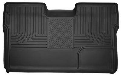 Husky | 53391 | X Act Rear Full Coverage Floor Liner Fits 2011-2014 Ford F150 With Center Console