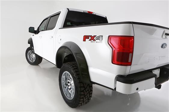 Bushwacker | 20958-02 | 18-19 Ford F-150 DRT Style Flares 4pc - Black