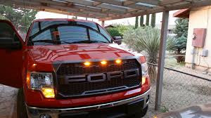 Paramount | 41-0158 + Letters | Raptor Style Grille For the 2009-2014 Ford F150 With Letters