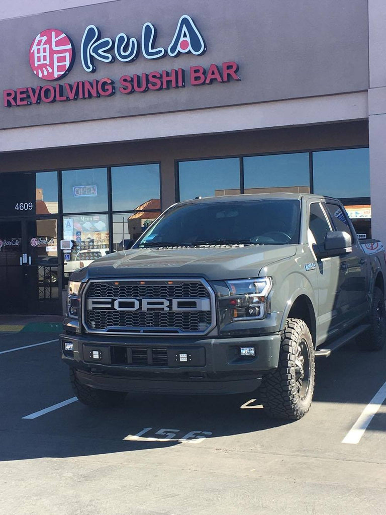 2015 17 ford f150 paramount letters for raptor style grilles shop here financing available the f150 shop