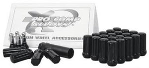 Pro Comp | 21134B | Black 6 Lug 12x4.5 Lug Nuts Fits 2015-2017 Ford F150