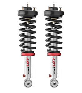 "Rancho | RS999911-RS999935 | Quick Lift Complete Strut Assembly 2"" Leveling Struts (Pair) Fits 2009-2013 Ford F150"