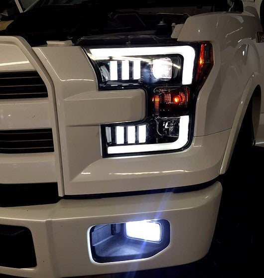 F150 Recon Headlights Black Projector Buy Now The