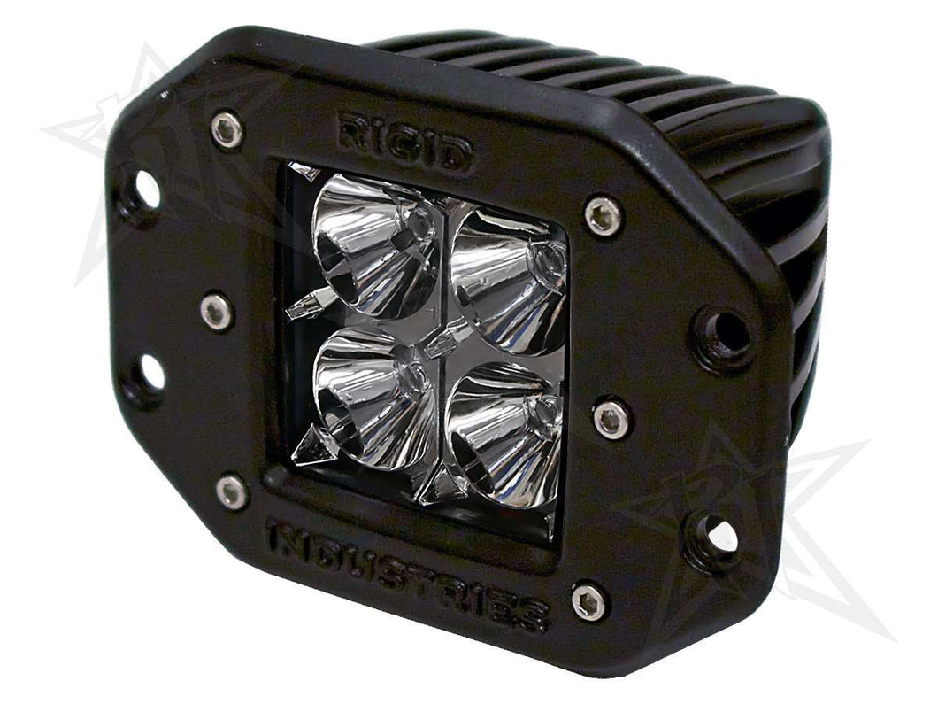 Rigid | 21111 | D-Series Flood Light (Single) Fits All Ford F150 Trucks
