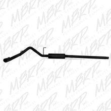 "MBRP | S5200BLK | 3"" Black finish cat back single 