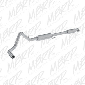 "MBRP | S5256409 | 3"" Stainless cat back single side exit w/tip 