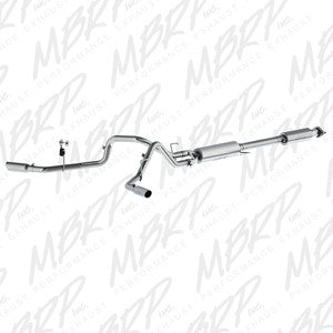 "MBRP | S5257409 | 2.5"" Stainless cat back duals 