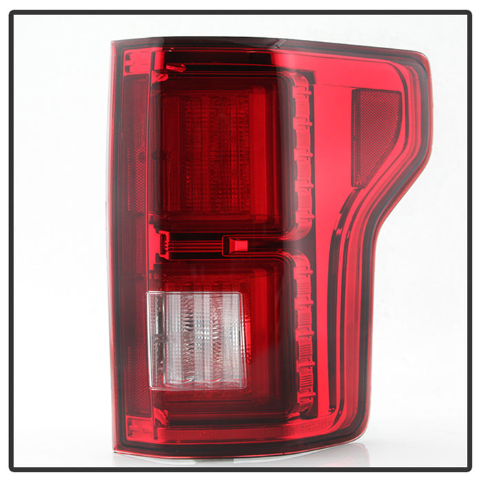 F150 Led Headlights >> Spyder | 5083692 | Chrome with Red Lenses LED Tail Lights Fits 2015-20 – The F150 Shop