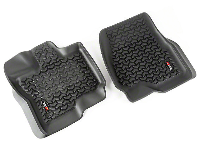 Rugged Ridge | 82902.33 | All Terrain Floor Liner Front Pair Black 15-18 Ford F-150
