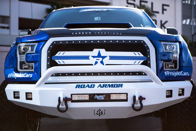 RBP NDX Series All Black Grille 15-17 Ford F-150