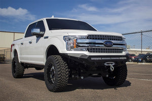Addictive Desert Designs 2018 Ford F-150 Stealth Fighter Front Bumper w- Winch Mount