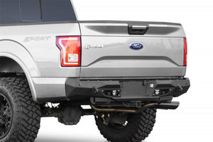 Addictive Desert Designs 15-18 Ford F-150 Stealth Fighter Rear Bumper w- Backup Sensor Cutout