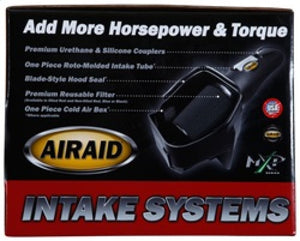 Airaid 11-14 Ford F-150 3.5-3.7L-5.0L -10-14 Raptor CAD Intake System w- Tube (Oiled - Red Media)