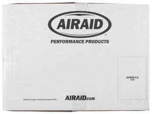 Airaid 2015 Ford F-150 5.0L V8 Cold Air Intake System w- Black Tube (Dry-Red)