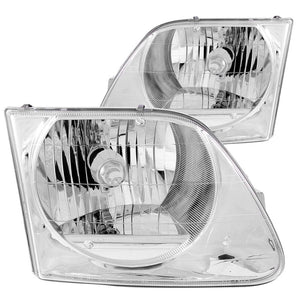 ANZO | 111030 | 1997-2003 Ford F-150 Crystal Headlights Chrome