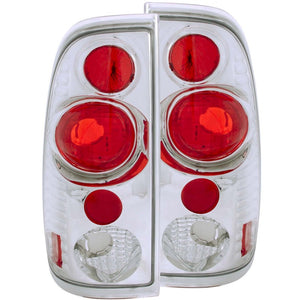 ANZO 1997-2003 Ford F-150 Taillights Chrome G2