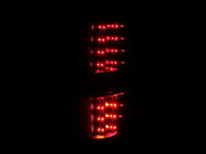 ANZO 2009-2014 Ford F-150 LED Taillights Black