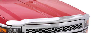 AVS 09-14 Ford F-150 (Excl. Raptor) High Profile Hood Shield - Chrome