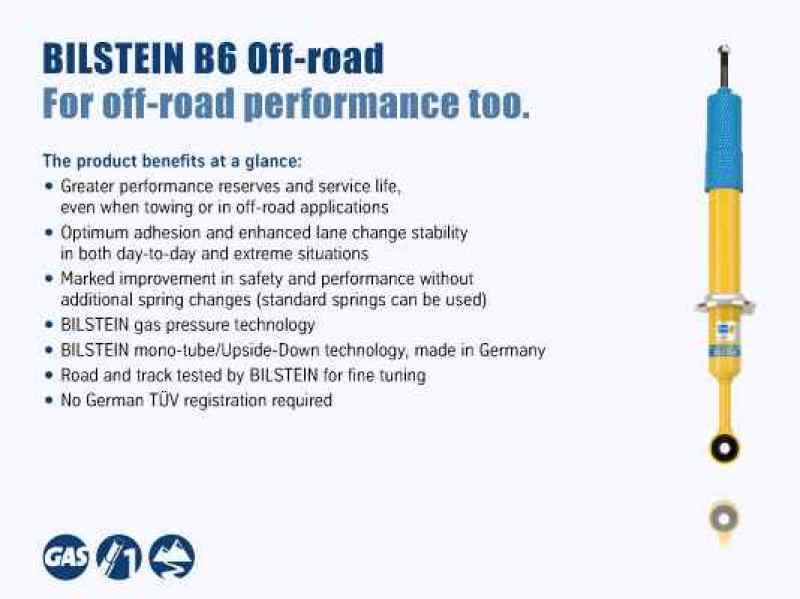 Bilstein B6 4600 Series 15-16 Ford F-150 Rear 46mm Monotube Shock Absorber