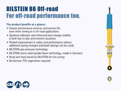 Bilstein B6 4600 Series 2014 Ford F-150 Rear 46mm Monotube Shock Absorber