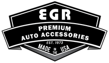 EGR 04-13 Ford F150 Crew Cab In-Channel Window Visors - Set of 4 - Matte (573395)