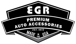 EGR 15+ Ford F150 Crew Cab In-Channel Window Visors - Set of 4 - Matte (573495)