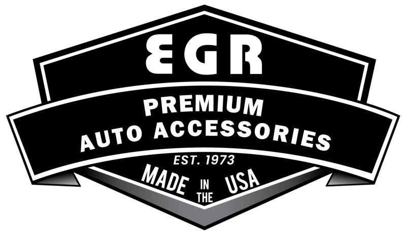 EGR 92-96 Ford F150-Bronco - 92-98 Super Duty Rugged Look Fender Flares - Rear Pair (753014R)