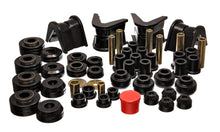 Energy Suspension 73-79 Ford F-150 Pickup 4WD Black Hyper-flex Master Bushing Set