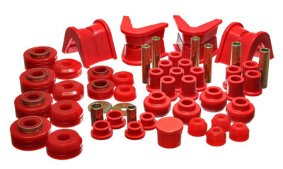 Energy Suspension 73-79 Ford F-150 Pickup 4WD Red Hyper-flex Master Bushing Set