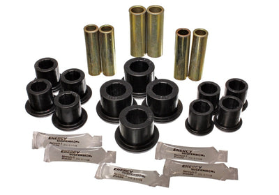 Energy Suspension 97-03 Ford F100-F150-F250 2WD Black Rear Leaf Spring Bushing Set