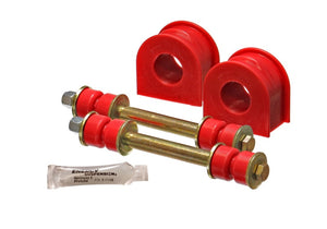 Energy Suspension 99-04 Ford F150 Lightning 2WD 31mm Red Front Sway Bar Bushing Set (Inc E-Links)