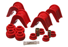 Energy Suspension 76-77 Ford Bronco-66-72 F-100-F-150 Red 4 Deg Offset Complete 14 Pc C-Bushing Set