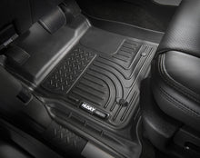 Husky Liners 15 Ford F-150 Super-Super Crew Cab WeatherBeater Grey Front Floor Liners