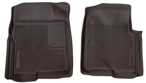 Husky Liners 09-12 Ford F-150 Series Reg-Super-Crew Cab X-Act Contour Black Floor Liners
