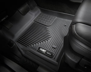 Husky Liners 2015 Ford F-150 SuperCrew Cab X-Act Contour Black 2nd Seat Floor Liners