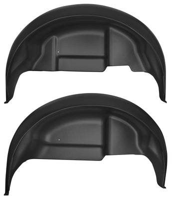 Husky Liners 17-18 Ford F-150 Raptor Black Rear Wheel Well Guards