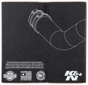 K&N 15-16 Ford F-150 2.7L V6 F-I Aircharger Intake Kit