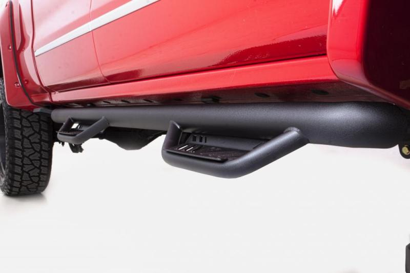 Lund 15-18 Ford F-150 SuperCab Terrain HX Step Nerf Bars - Black