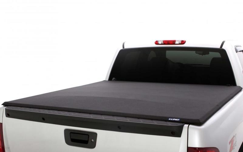 Lund 04-18 Ford F-150 (6.5ft. Bed) Genesis Elite Seal & Peel Tonneau Cover - Black