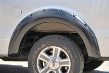 Lund 04-08 Ford F-150 RX-Rivet Style Textured Elite Series Fender Flares - Black (4 Pc.)