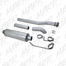 MBRP 09-11 Ford F-150 EC-not 8' bed-CC-all beds Cat Back Single Side Turn Down Aluminized Exhaust