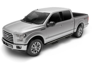N-Fab Podium LG 15-17 Ford F-150 SuperCrew - Tex. Black - 3in