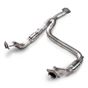 Stainless Works 2011-14 F-150 3.5L 3in Downpipe High-Flow Cats Y-Pipe Factory Connection