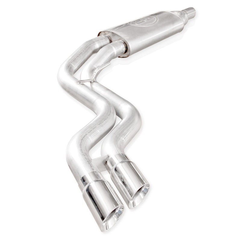 Stainless Works 2011-14 Ford Raptor Exhaust Y-Pipe Mid Resonator Front Passenger Rear Tire Exit