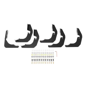 Westin 2015-2018 Ford F-150 SuperCab PRO TRAXX 4 Oval Nerf Step Bars - Black
