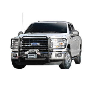 Westin 2015-2018 Ford F-150 Sportsman Winch Mount Grille Guard - Black