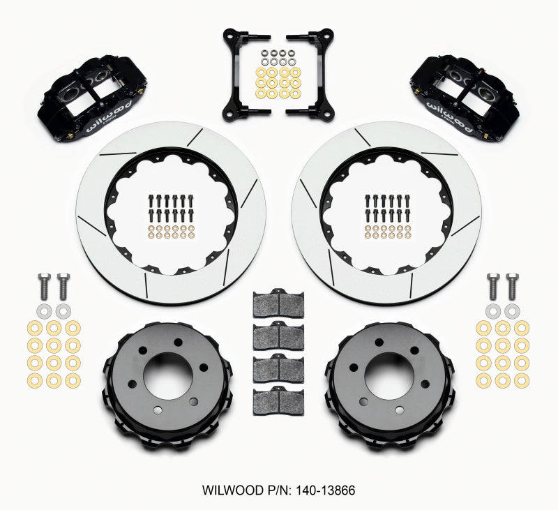 Wilwood Narrow Superlite 4R RearTruck Kit 14.25in 2012-Up Ford F150 (6 lug)