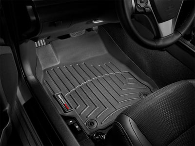 WeatherTech 2016+ Ford F-150 Regular Cab Front FloorLiner - Black