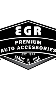 EGR 15+ Ford F150 Crew Cab Tape-On Window Visors - Set of 4 (643491)